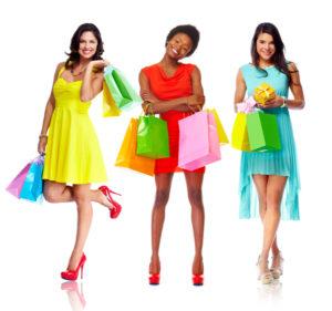 Las mujeres, las reinas de las compras en EEUU