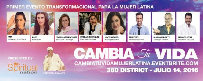 Cambia tu vida, el talk show interactivo para la mujer latina