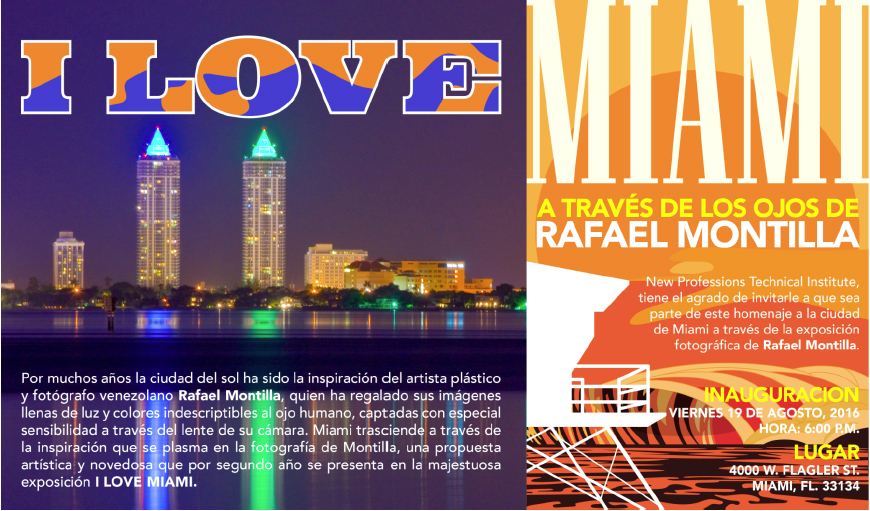exhibicion I love Miami