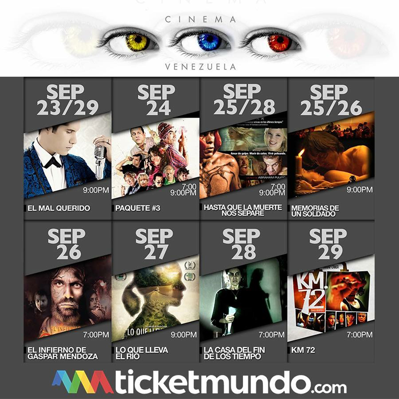 Cinema Venezuela regresa a Miami en su segunda edición