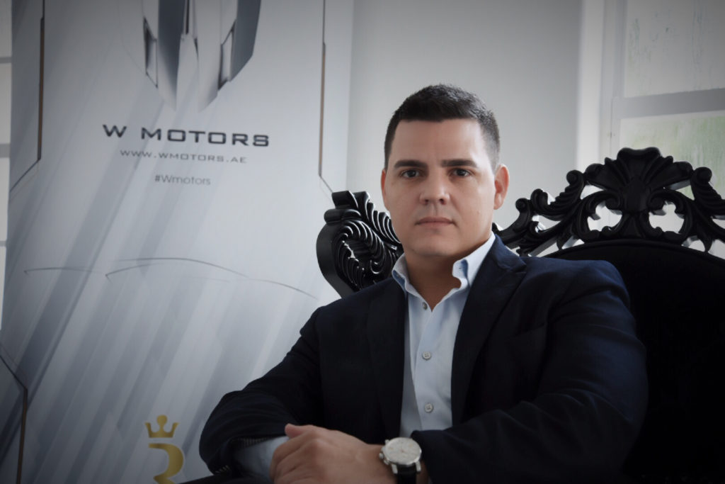 Jorge Mesa Jr. CEO W Motors