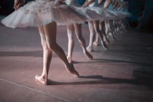 La niña que bailaba Ballet