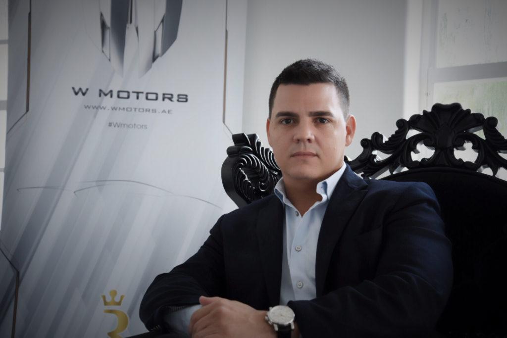 Jorge Mesa Jr. CEO W Motors