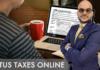 taxes on line
