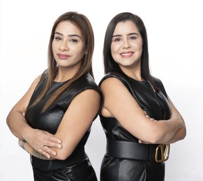 Andrea Acosta y Milagros Paba